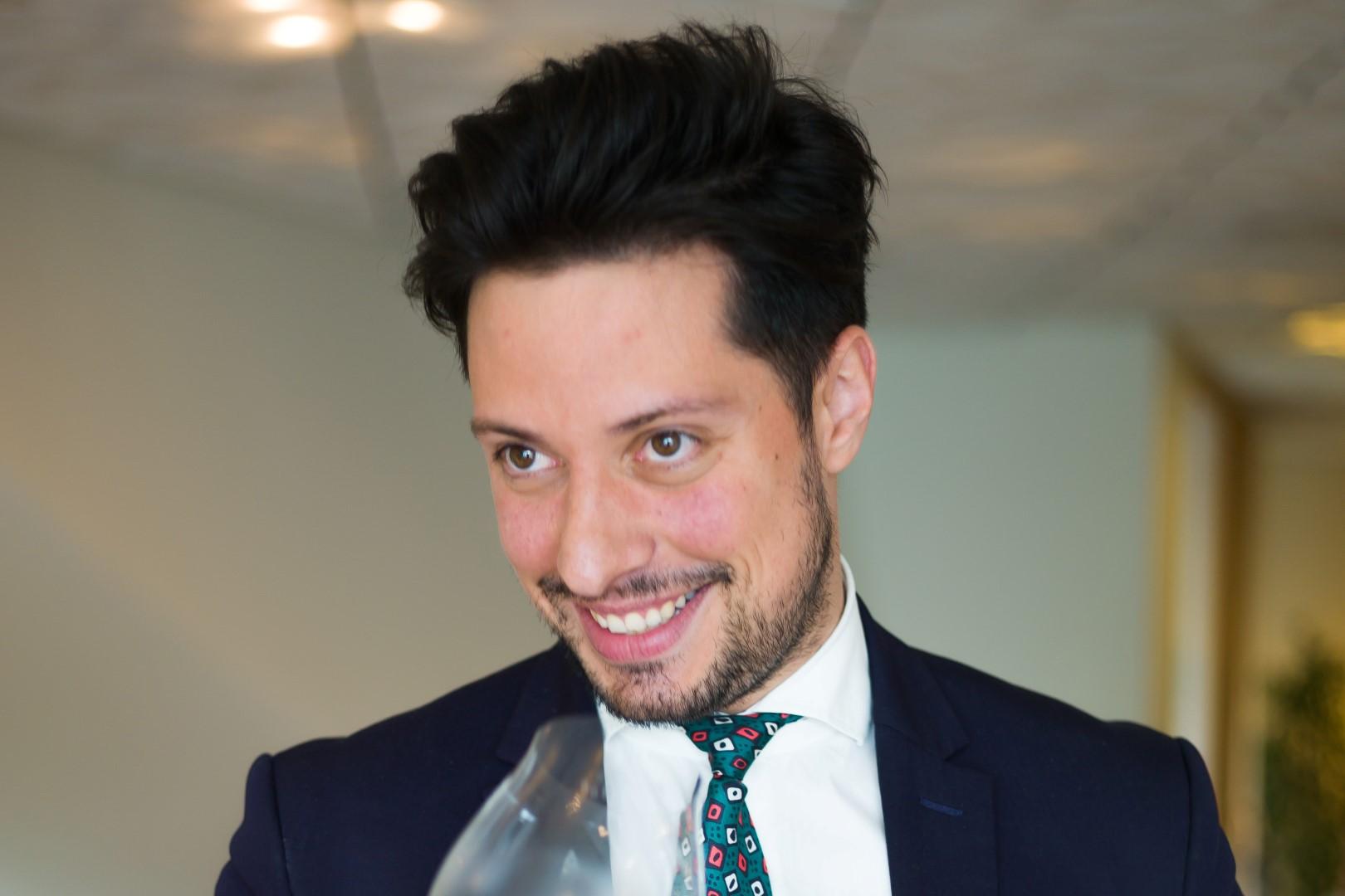 Ismael Álvarez sommelier