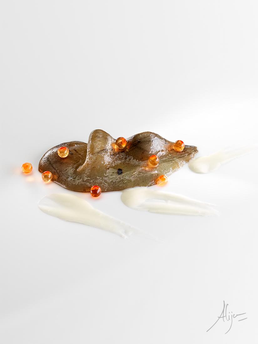 Saumon, pilpil et œufs de truite